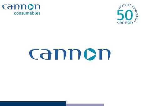 Introduction Cannon Overview Our Service Ordering Methods Customer Service Logistics and Distribution Account Management Case Study Our Promise Price.