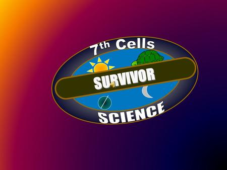 SURVIVOR. Which instrument is best for viewing cells and cell parts? A. glasses B. microscope C. telescope D. magnifying glass.