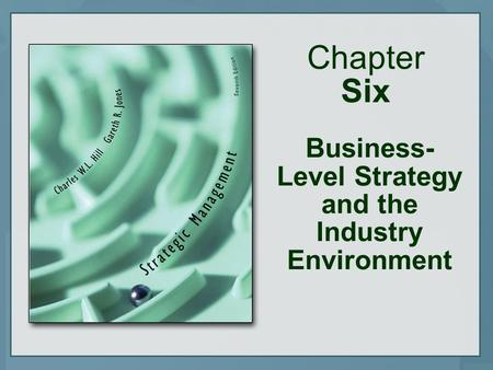Chapter Six Business- Level Strategy and the Industry Environment.