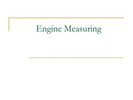 "Engine Measuring Vernier (Dial) Caliper Useful because it can read inside and outside measurements. Use only as a ""rough"" guide. Add the reading on the."