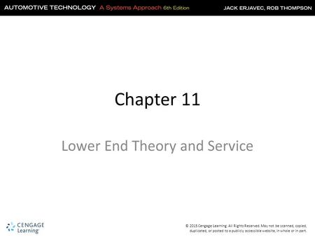 Lower End Theory and Service