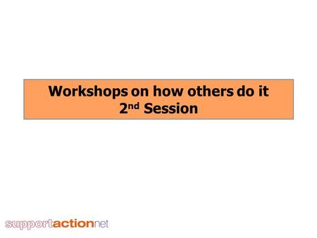 Workshops on how others do it 2 nd Session. Reconnecting rough sleepers with their community of origin Matthew Rothwell, Reconnection Worker Sheena Field,