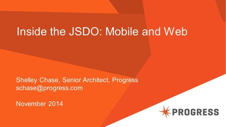 Inside the JSDO: Mobile and Web