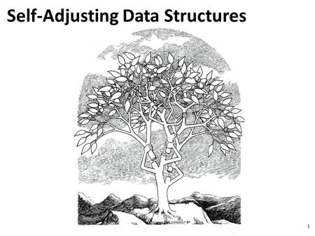 1 Self-Adjusting Data Structures. 2 Lists [D.D. Sleator, R.E. Tarjan, Amortized Efficiency of List Update Rules, Proc. 16 th Annual ACM Symposium on Theory.