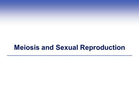 Meiosis and Sexual Reproduction. Genes and Alleles  Genes Sequences of DNA that encode heritable traits  Alleles Slightly different forms of the same.