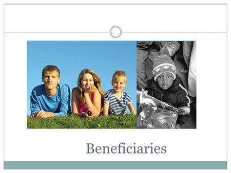 Beneficiaries. What is a Beneficiary? Person named by the participant in an insurance policy or pension plan to receive any benefits provided by the plan.