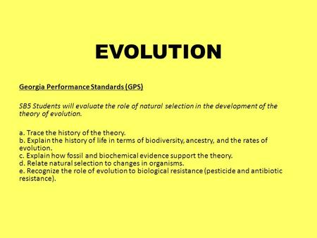 defining genetic determinism and its role in the evolutionary theory Skinner's model of operant conditioning extended the pavlovian revolution by defining the precise reinforcing role evolutionary theory determinism as it was.