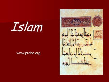 islam preliminary