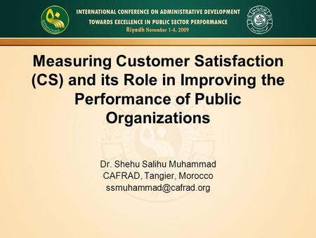 measuring customer satisfaction in the public Guest post: harvey hammond customer satisfaction is difficult to measure due to several reasons counting on customer satisfaction owing to their feedback is not the case because most people prefer keeping quiet when satisfied some people see no need of contacting the service provider while others.