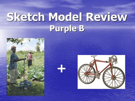Sketch Model Review Purple B +. Need Statements A low-cost, practical irrigation system to facilitate the growth of agriculture. An inexpensive power.