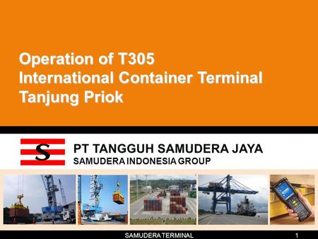 Operation of T305 International Container Terminal Tanjung Priok