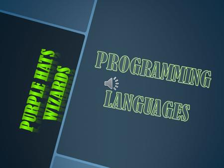 2 We need programming languages to communicate with a computer. The two broad classifications of programming languages are: Low-level and High- level.