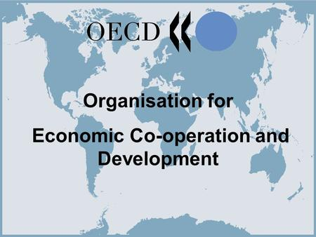 Economic Co-operation and Development