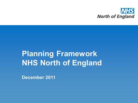 business planning framework nhs human