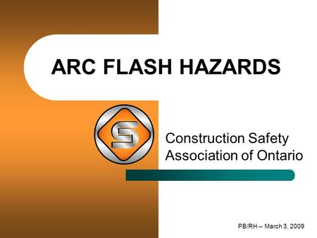 Arc Flash Hazards Construction Safety Association of Ontario