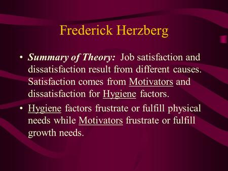 summary of job satisfaction In summary, the level of job satisfaction influences an employee's behavior and  attitudes toward the job he or she performs and directly affects.