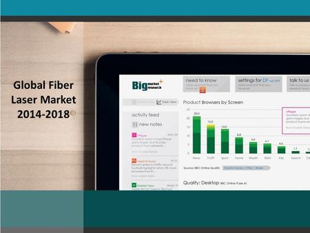 Global Fiber Laser Market 2014-2018. TechNavio's analysts forecast the Global Fiber Laser market to grow at a CAGR of 21.9 percent over the period 2013-2018.