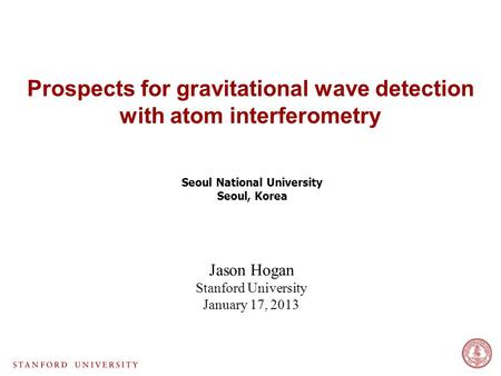 Prospects for gravitational wave detection with atom interferometry