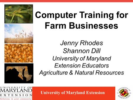 "Heart of the Farm Bookkeepers\' Boot Camp"" Trisha Wagner Jackson ..."