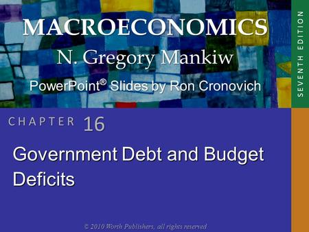 the economic implications of the federal budget deficit and public debt The economics of the balanced budget  assistant director of public policy and economic  congressional budget office projects that the federal budget deficit.