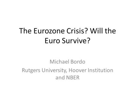 will euro survive On its launch, there were 12 participating countries there are now 19 eu member states using the euro the euro is also used in the microstates of the vatican city, san marino, monaco and andorra further afield it is also used in montenegro and kosovo the greek financial crisis indicates the political determination behind the euro single currency.