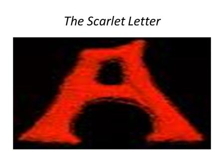 The Scarlet Letter. Themes Making a mini-book Each person should get one sheet of unlined paper. Return to your area. You will be following my instructions.