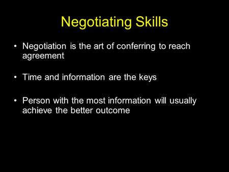 How to Master the Art of Negotiation