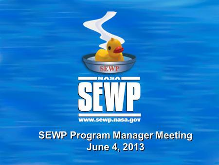 SEWP Program Manager Meeting June 4, 2013. 2 Terms and Conditions  Text A.1.2 Procedures for Orders permits the Government Contracting Officer to negotiate.