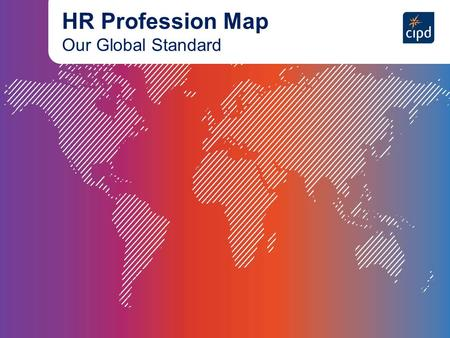 HR Profession Map Our Global Standard