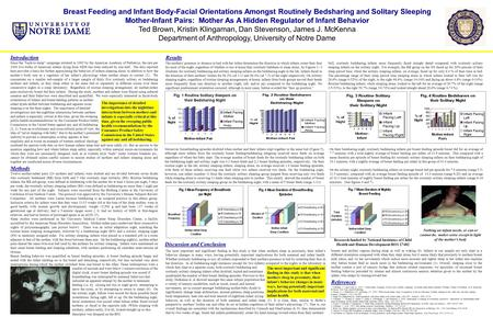 Breast Feeding and Infant Body-Facial Orientations Amongst Routinely Bedsharing and Solitary Sleeping Mother-Infant Pairs: Mother As A Hidden Regulator.