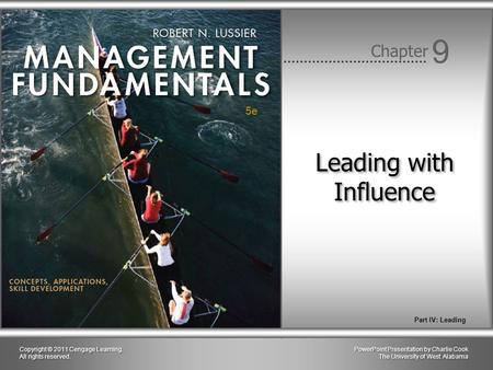 Leading with Influence