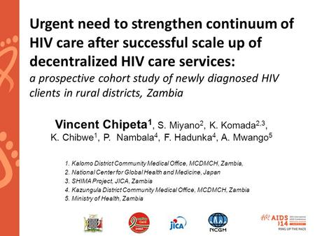 Urgent need to strengthen continuum of HIV care after successful scale up of decentralized HIV care services: a prospective cohort study of newly diagnosed.
