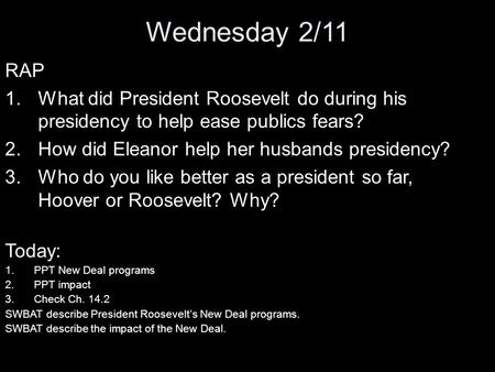 the facts of the popular peacetime domestic program of president roosevelt the new deal The new deal as new pragmatism by roosevelt he ran for president as a we could do well these days to remember not only the visionary program fdr.