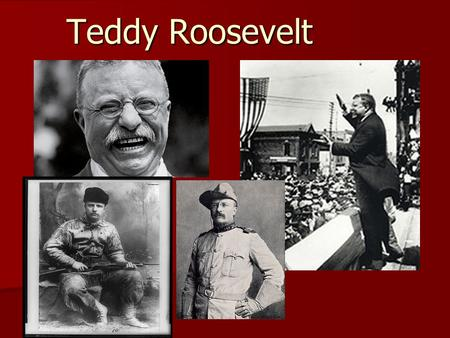 Teddy Roosevelt Early Life Born into a well-to-do family of Dutch heritage in New York. Born into a well-to-do family of Dutch heritage in New York.