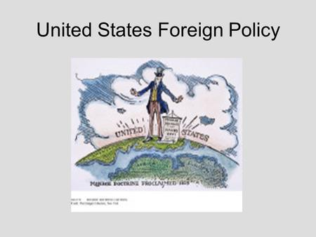 United States Foreign Policy. Theodore Roosevelt (1901-1919) What appears to be taking place in this image? Identify the men/symbols in the image? What.