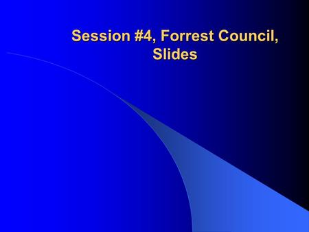 Session #4, Forrest Council, Slides. The Potential Impacts of a Towaway Reporting Threshold on Driver/User and Roadway Safety Programs Forrest M. Council.