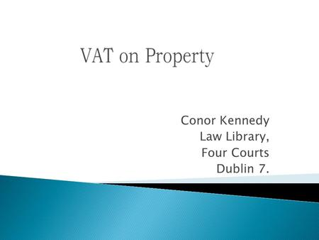 Conor Kennedy Law Library, Four Courts Dublin 7..