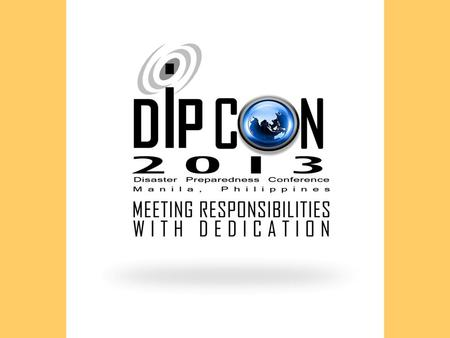 Venue: SMX Convention Center Mall of Asia, Pasay City Date: NOVEMBER 11-15, 2013 Beneficiary: CDAG-PWD Program.