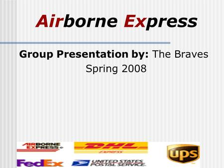 airborne express in 2002 [airborne express letterhead] march 27, 2003  dear fellow employee: earlier this week, airborne express announced an agreement has been reached with dhl worldwide express to combine the companies to create a stronger third competitor in our industry my purpose in writing this let.
