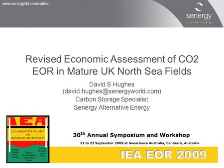 Revised Economic Assessment of CO2 EOR in Mature UK North Sea Fields