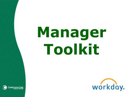 Manager Toolkit. Table of Contents Summary of Changes Benefits, Life Events, Personal Information Changes Benefits, Life Events, Personal Information.