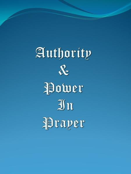 "Authority Authority – (Gk. ""exousia') Positional authority, command authority, the legitimate right to exercise power, privilege, mastery, magisterial."