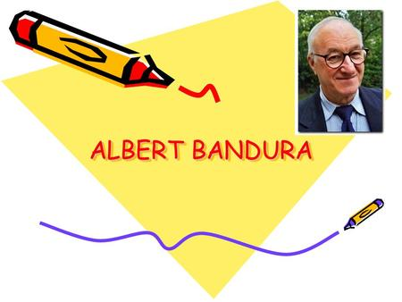 an analysis of albert bandura on his theory which is based on observational learning and modeling be But a person's behavior also contributes to his environment how observational learning  albert bandura's study on modeling  learning theory is based.