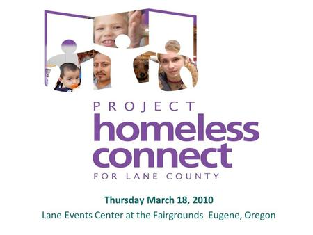 Thursday March 18, 2010 Lane Events Center at the Fairgrounds Eugene, Oregon.