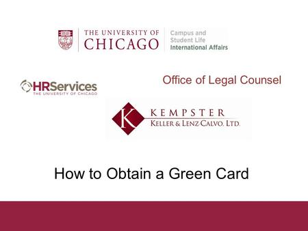 How to Obtain a Green Card Office of Legal Counsel.