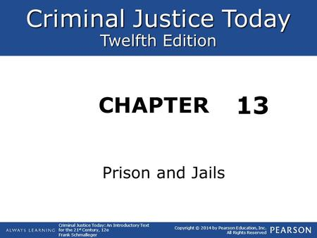 13 Prison and Jails.