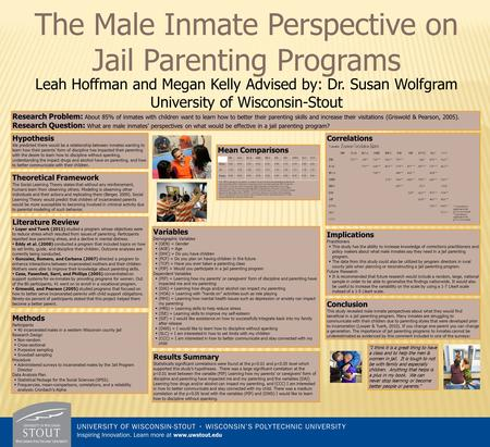 Leah Hoffman and Megan Kelly Advised by: Dr. Susan Wolfgram University of Wisconsin-Stout Hypothesis We predicted there would be a relationship between.