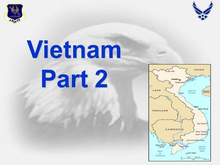 1 Vietnam Part 2. 2 Uses of Airpower Background Vietnam War was primarily a land war Vietnam War was primarily a land war Most air power used in conjunction.