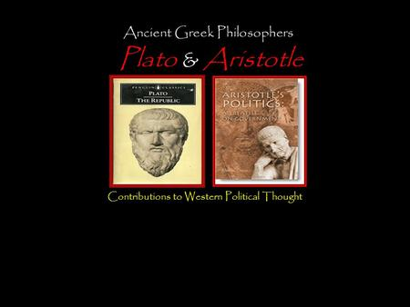 "the differences between platos and aristotles ideas on an ideal polis Aisaka, s (1983) ""die staatsidee der griechischen polis"" memoirs of ""between koinon ""differences in legal nature among testament in roman law."