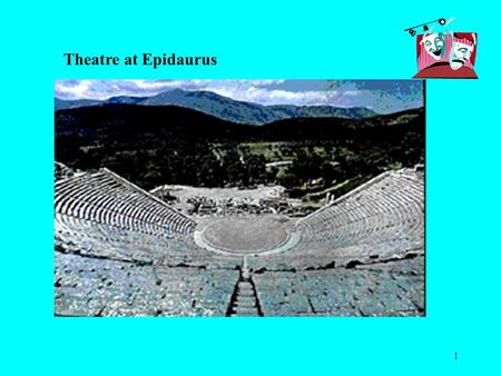 1 Theatre at Epidaurus. 2 Aristotle Aristotle was the younger of the three great philosophers: Socrates, Plato and Aristotle. All three of these philosophers.
